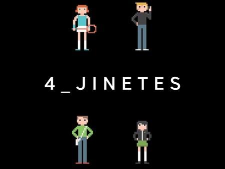 '4 jinetes' de Anxo Fariña