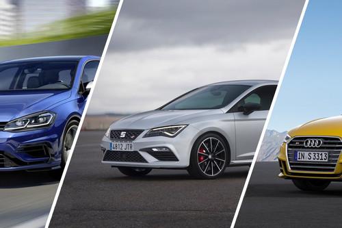 Audi S3 vs. SEAT León CUPRA vs. Volkswagen Golf R, las diferencias entre los primos de la casa alemana