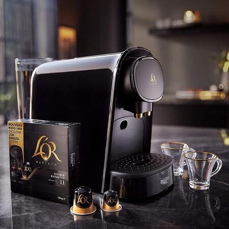 Philips L Or Lm8012 60 Barista Cafetera Compatible Con Capsula Individual Doble 19 Bares Presion Deposito 1l Color Negro