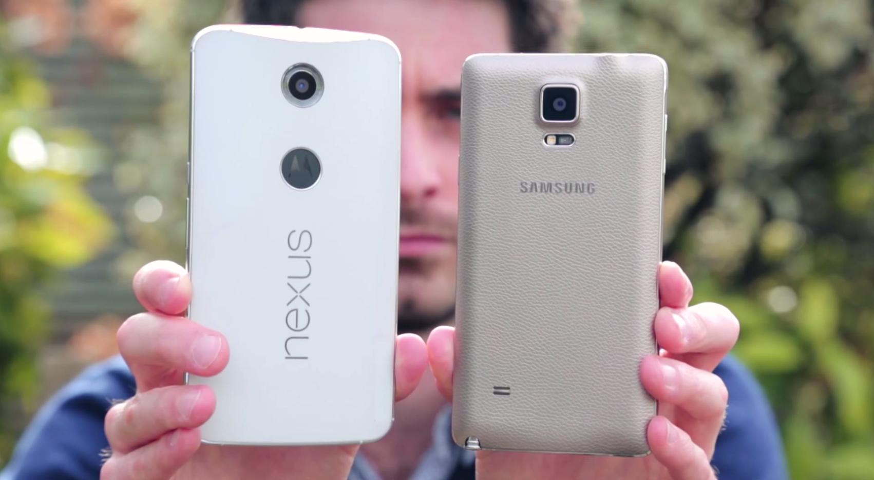 Foto de Nexus 6 vs Note 4 (1/6)