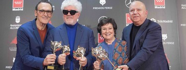 Premios Feroz 2020: 'Dolor y gloria' arrasa en la noche de los premios de la crítica