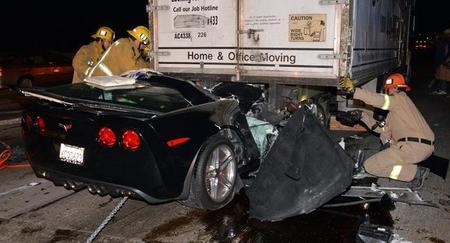 Hay gente con mucha suerte (LXXXIII): el milagro del Corvette Z06