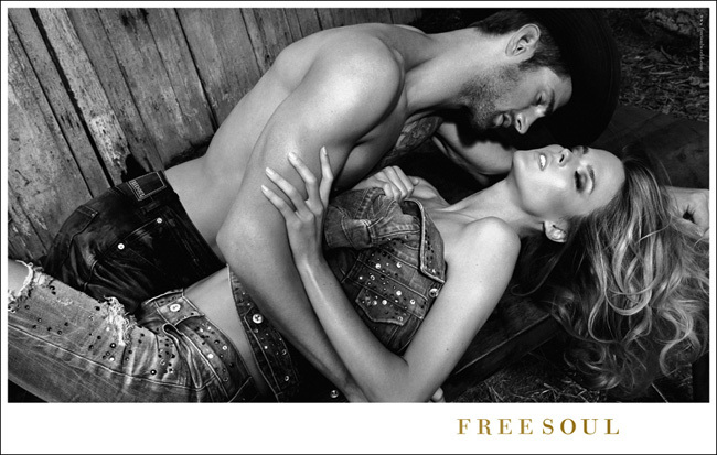 Campaña Freesoul Otoño–Invierno de 2011/2012: estilo vaquero