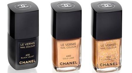 chanel-vernis-black-velve-gold-lame-illusion-dor