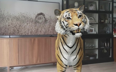 Cómo poner un animal 3D en tu salón con Google para hacer fotos y pasar un buen rato con los niños