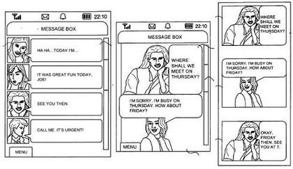 Samsung patenta un mejorado sistema de SMS
