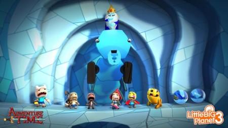 Hora de Aventuras en LittleBigPlanet 3