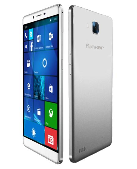 Funker W6.0 Pro 2, una apuesta por el diseño aderezada con Windows 10 y Continuum