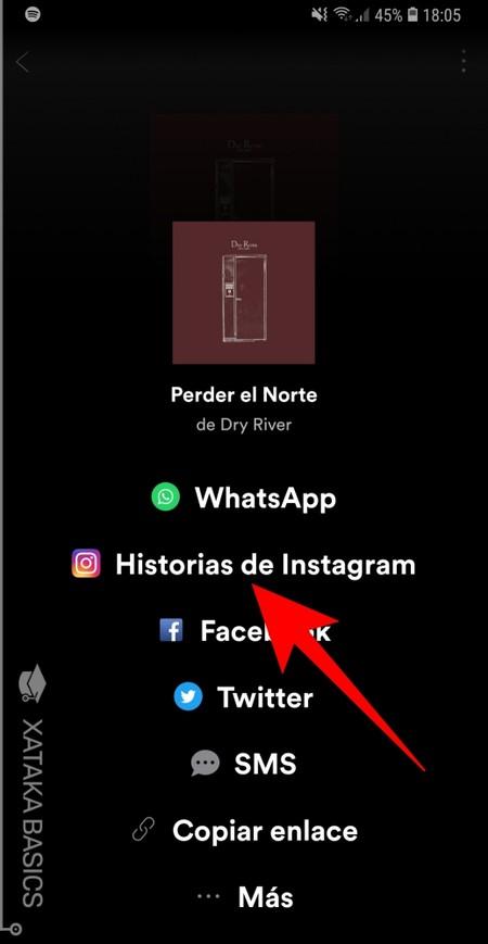 Elige Historias de Instagram