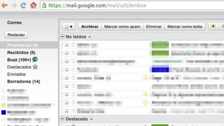 Minimalist Gmail: quita elementos de la interfaz de Gmail en Chrome