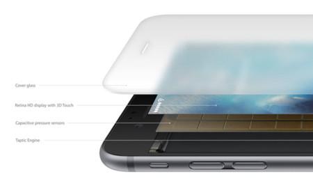 Desglose de las capas de la pantalla del iPhone 6s