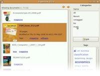 PaperBox: organizador y navegador de documentos para el escritorio Gnome