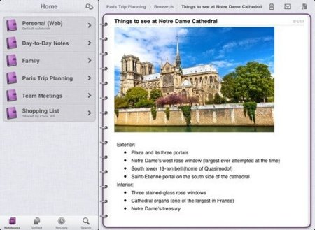 Microsoft lanza OneNote para iOS como un primer paso para llevar Office a la plataforma