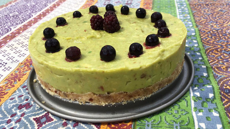 Pastel Cheesecake De Aguacate