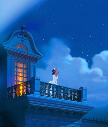 'The Princess and the Frog', primera imagen oficial de lo nuevo de Disney, que será en 2D y está protagonizado por una joven negra