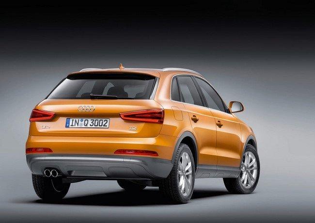Audi Q3 amarillo
