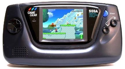 New Super Mario Bros. U corriendo en la Game Gear