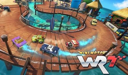 Mini Motor Racing WRT es la secuela de uno de los juegos de coches más divertidos de iOS