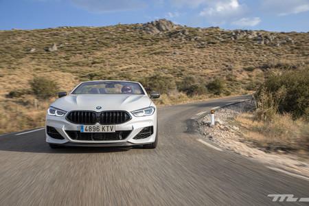 BMW M850i Cabrio frontal