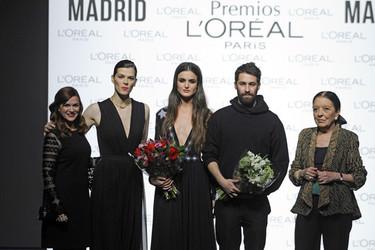 Juan Vidal y Blanca Padilla son los ganadores de los Premios L'Oréal en la MBFWM
