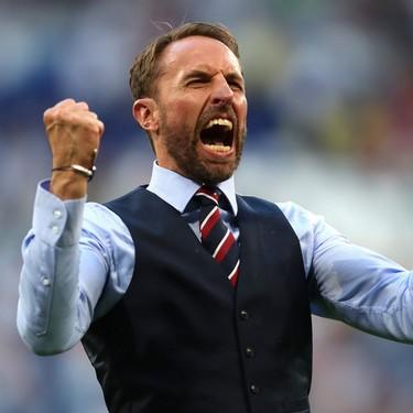 Gareth Southgate es oficialmente el hombre más elegante que hemos visto en el mundial de Rusia 2018