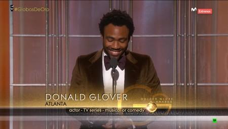 Donald Glover En Los Globos De Oro 2017