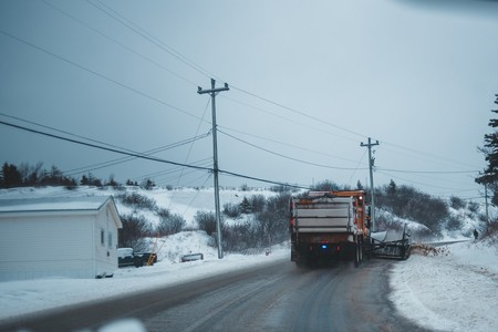 Nieve Carretera
