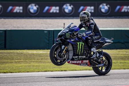 Maverick Viñales lidera un triplete de Yamaha que no camufla el dominio de Marc Márquez en Aragón