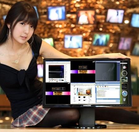 Samsung 2342BWX, muy alta resolución