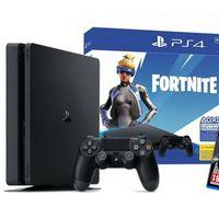 ¡Que no se te escape! La PS4 Slim de 500 GB con contenido para Fortnite y Watch Dogs Complete Edition, se queda por sólo 197,95 euros con el cupón MEGUSTAEBAY