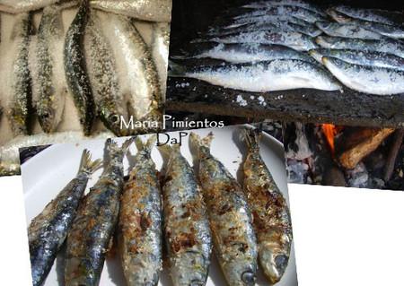 Tres en uno de sardinas