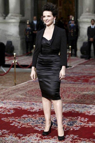 Todas las invitadas a la fiesta del 20 Aniversario de Dolce Gabbana: Juliette Binoche
