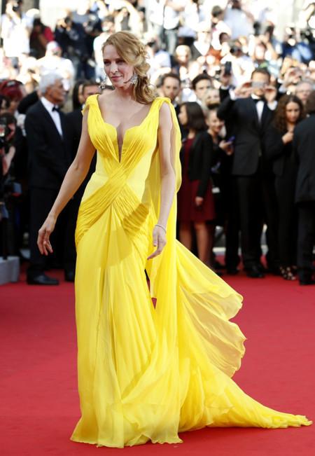 Uma Thurman Cannes 2014