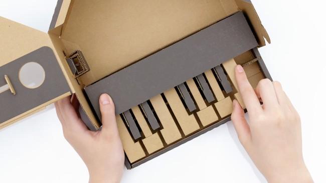 He montado un piano de cartón, y ahora mi opinión sobre Nintendo Labo ha cambiado (a mejor)
