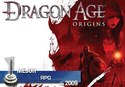 Mejor RPG de 2009 en VidaExtra: 'Dragon Age: Origins'
