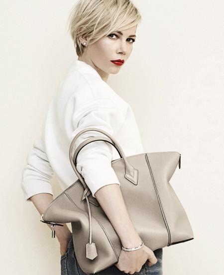 Michelle Williams repite como imagen de Louis Vuitton