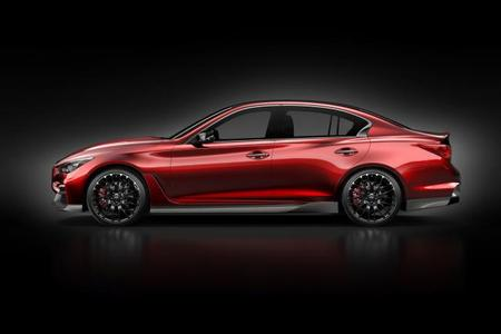 Infiniti Q50 Eau Rouge Concept, nuevas imágenes oficiales