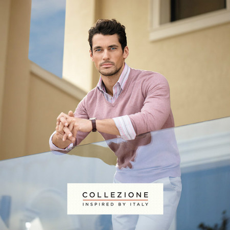 "El estilo italiano de ""collezione"" viaja hasta Marks&Spencer con David Gandy"