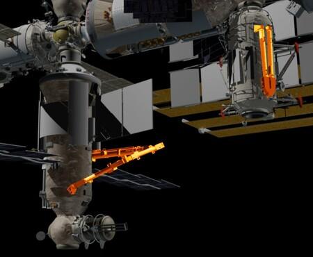 Contempla el primer brazo robótico espacial capaz de moverse hacia adelante y hacia atrás por sí mismo
