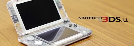 Nintendo muestra un modelo de 3DS XL con carcasa transparente y anuncia nuevas mejoras en sus pantallas