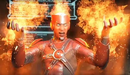 Firestorm se suma al roster de Injustice 2... ¡y le ha copiado los movimientos a Raiden!