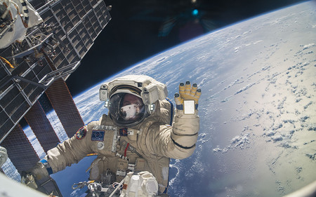 Viaja (casi de verdad) a Estación Espacial Internacional en 4K Ultra HD