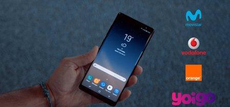 ¿Dónde comprar el Samsung Galaxy Note 8 más barato? Comparativa de precios a plazos con tarifas móviles