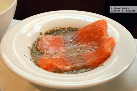 Salmon Marinando