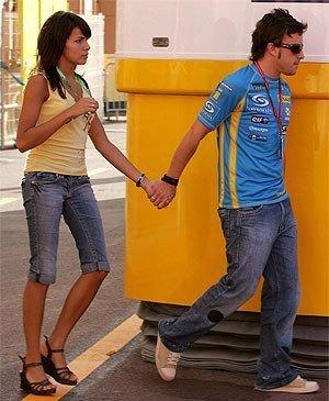 Alonso se casa en las Maldivas
