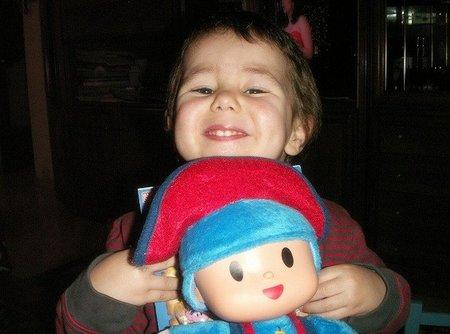 La foto de tu bebé: Guillem feliz con Pocoyó