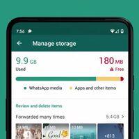 WhatsApp lanza nuevos ajustes para liberar espacio rápida y fácilmente de nuestros iPhone