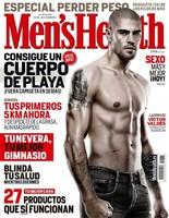 Victor Valdés celebra el triunfo del Barcelona desde la portada de Men's Health