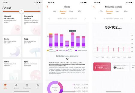 Aplicacion Salud Huawei