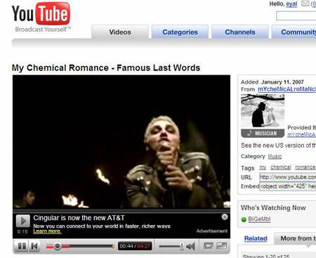 Vídeos en alta calidad en YouTube